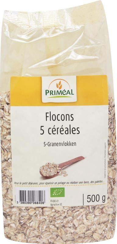 Primeal Primeal Cereals 5 flakes (500 gram)