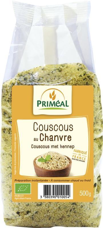 Primeal Primeal Couscous met hennep (500 gram)