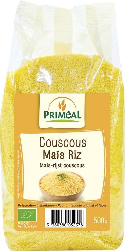 Primeal Primeal Couscous mais rijst (500 gram)