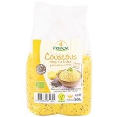Primeal Couscous mais rijst en chia citroen (300 gram)