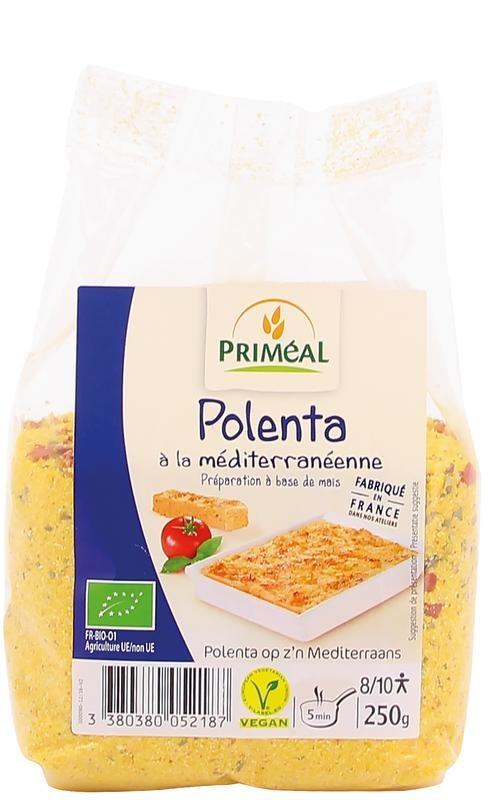Primeal Primeal Polenta mediterranean (250 gram)