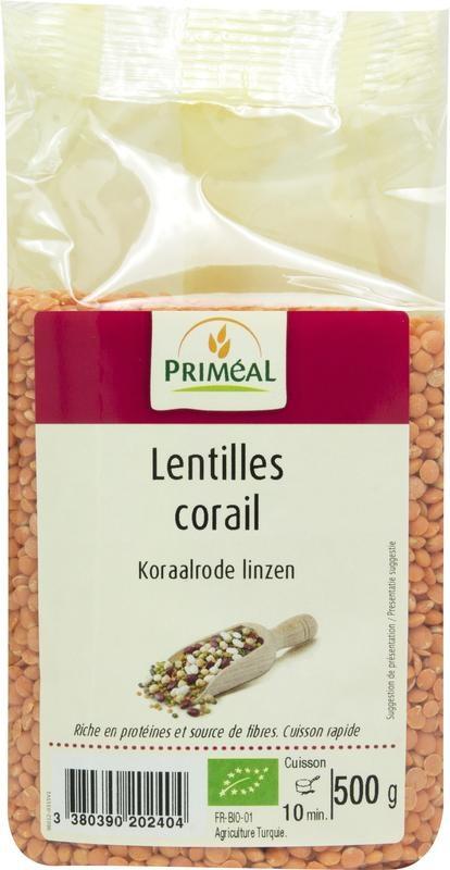 Primeal Primeal Linzen rood (500 gram)