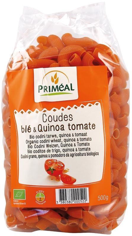 Primeal Primeal Organic codini tarwe quinoa tomaat (500 gram)