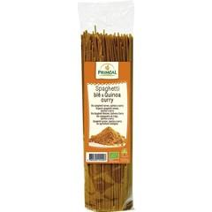 Primeal Organic spaghetti tarwe quinoa curry (500 gram)