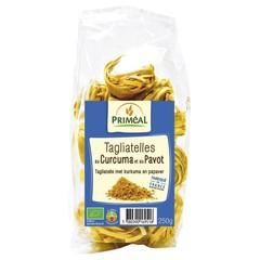Primeal Tagliatelle kurkuma papaver (250 gram)