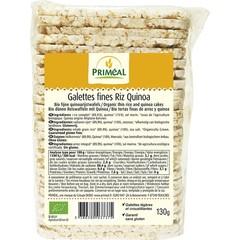 Primeal Quinoa rijstwafel dun (130 gram)