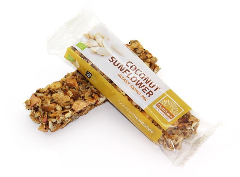 Mattisson Mattisson Organic energy bar coconut sunflower (30 gram)