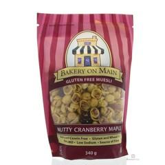 Bakery On Main Muesli nutty cranberry (340 gram)