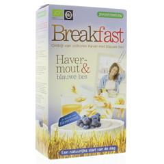 Joannusmolen Breakfast havermout blauwe bes (300 gram)
