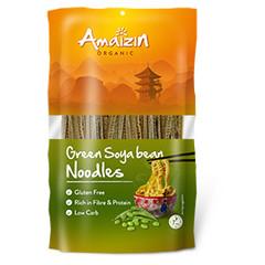 Amaizin Sojabonen noodles groen (200 gram)
