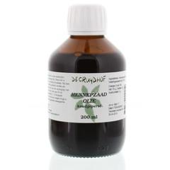 Cruydhof Hennepzaadolie koudgeperst (200 ml)