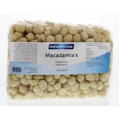 Nova Vitae Macadamia ongebrand raw (1 kilogram)