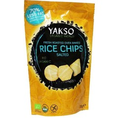 Yakso Rice chips salted (70 gram)