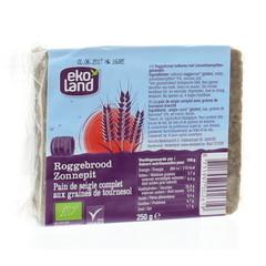 Ekoland Roggebrood zonnepit (250 gram)