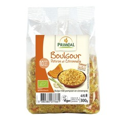 Primeal Bulgur met pompoen en citroengras (300 gram)