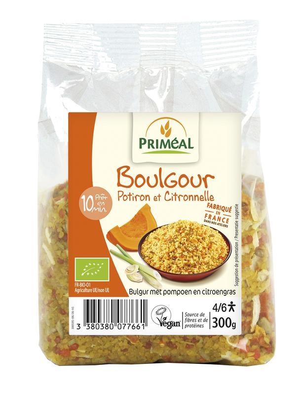Primeal Primeal Bulgur met pompoen en citroengras (300 gram)