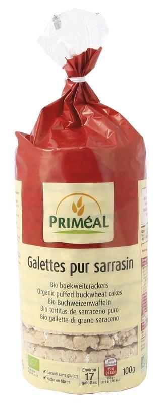 Primeal Primeal Boekweitcrackers (100 gram)