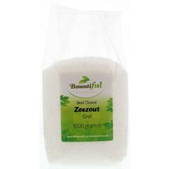 Bountiful Zeezout grof (1 kilogram)