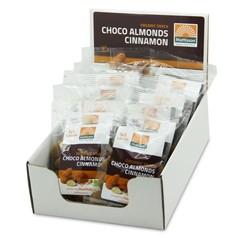 Mattisson Amandelen kaneel snack puur choco 35 gram (10 stuks)