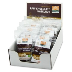 Mattisson Hazelnoten snack raw choco 35 gram (10 stuks)