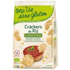 Ma Vie Sans Rijstcrackers met olijfolie (40 gram)