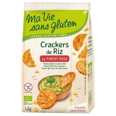 Ma Vie Sans Rijstcrackers sweet chili (40 gram)