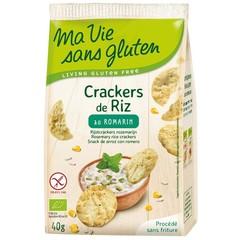 Ma Vie Sans Rijstcrackers rozemarijn (40 gram)