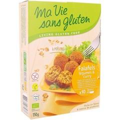 Ma Vie Sans Falafel met groente & curry (150 gram)