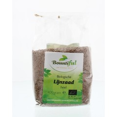 Bountiful Lijnzaad heel bio (400 gram)