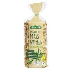 Allos Amarant maiswafels rozemarijn (100 gram)