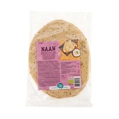 Terrasana Naanbrood knoflook kalonji (240 gram)