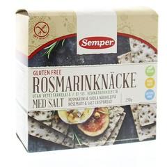 Semper Knackebrod rozemarijn zout (230 gram)