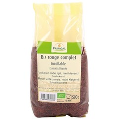 Primeal Rijst rood volkoren niet klevend (500 gram)