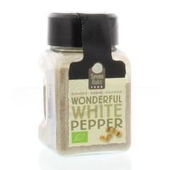 Seven Oaks Food Wonderful white pepper bio (38 gram)