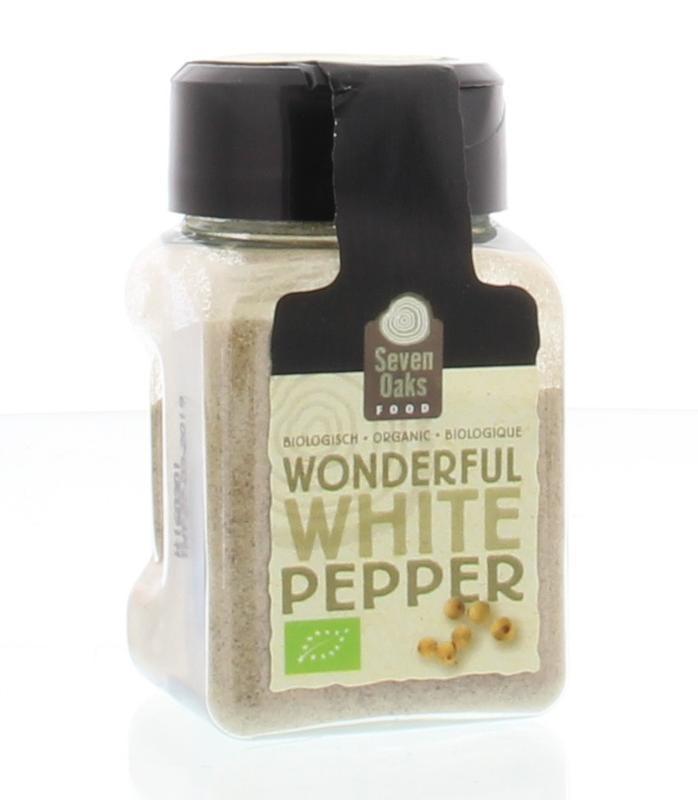Seven Oaks Food Seven Oaks Food Wonderful white pepper bio (38 gram)