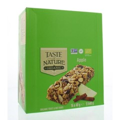 Taste Of Nature Apple granenrepen (16x40g)