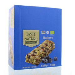 Taste Of Nature Blueberry granenrepen (16x40g)