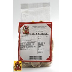 Le Poole Kruidnoot chocolade wit (150 gram)
