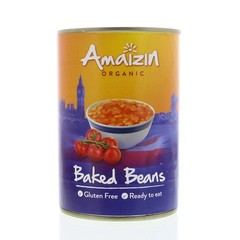 Amaizin Witte bonen in tomatensaus (400 gram)