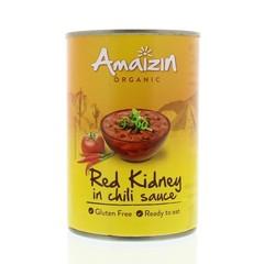 Amaizin Rode kidneybonen in chilisaus (400 gram)