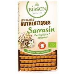 Bisson Biscuits boekweit (175 gram)