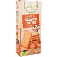 Bisson Biscuits crunchy caramel (118 gram)