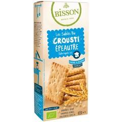 Bisson Biscuits crunchy spelt (120 gram)