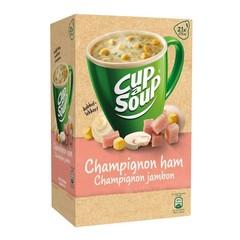 Cup A Soup Champignon & ham (21 zakjes)