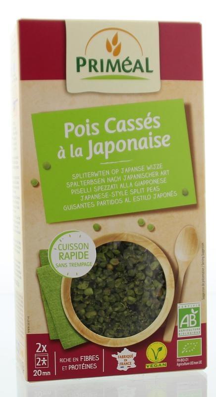 Primeal Primeal Peulvruchten spliterwten japanse stijl (250 gram)