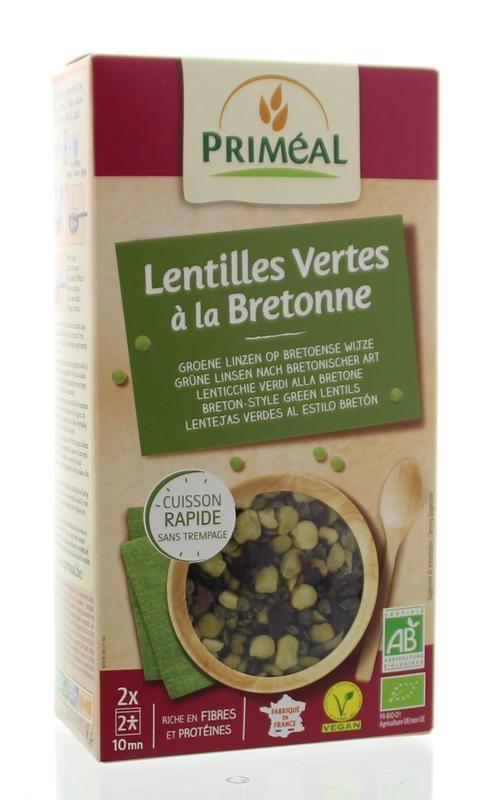 Primeal Primeal Peulvruchten groene linzen bretonse stijl (250 gram)