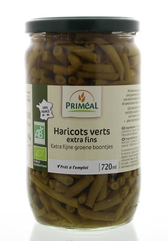 Primeal Primeal Haricots verts extra fijn (660 gram)