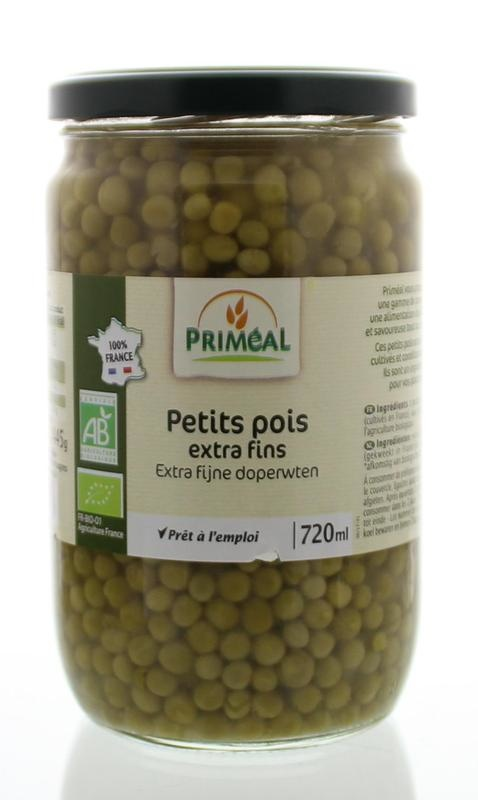 Primeal Primeal Doperwten extra fijn (660 gram)