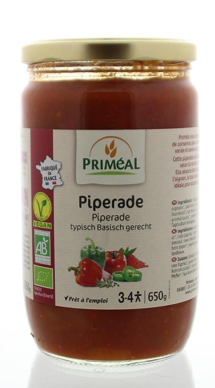 Primeal Primeal Groentemix piperade (650 gram)