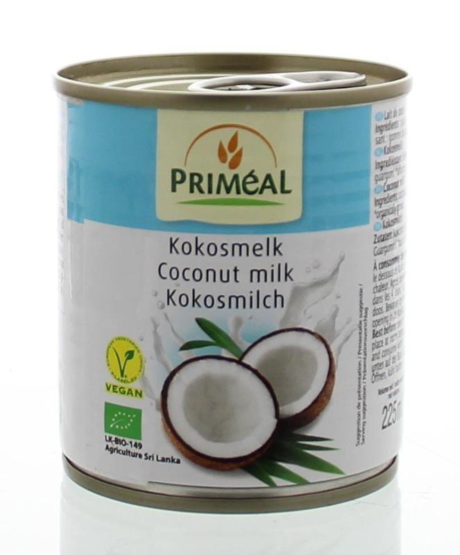 Primeal Primeal Kokosmelk (225 ml)